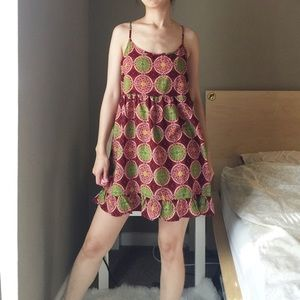 One Clothing Tribal Printed Cami Dress.-T3.